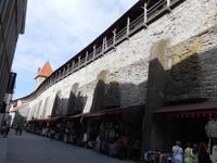 Estland_Tallin_Stadtmauer