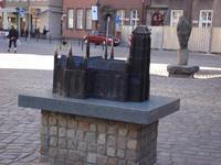 Danzig: Modell Marienkirche