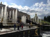 die Wasserspiele von Petershof
