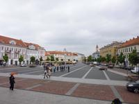 Litauen_Vilnius_Rathausplatz