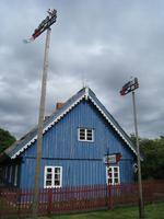 11 typische Häuser in Nida