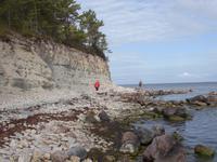Steilküste in Panga