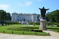 Schloss im Botanischen Garten von Palanga