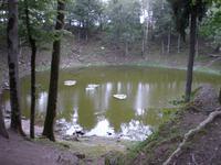 Kratersee auf Saaremaa