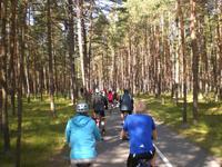 Radreisegäste in Litauen