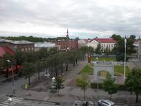 Blick über Pärnu
