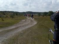 Radreisegäste auf Saaremaa