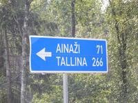 Auf zum Grenzort Ainazi