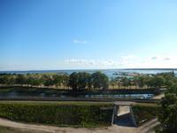 Blick von der Festung in Kuressaare