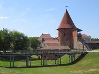Die alte Burg von Kaunas