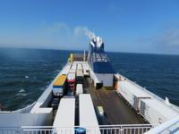 mit DFDS bach Klaipeda