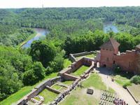 Burg Turaida mit Gauyafluss
