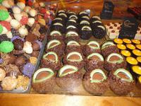 Luxemburgs Kastanien und Eicheln aus Schokolade