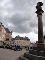 Markt mit Urteilskreuz, Echternach