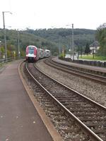 Zug der LuxemburgerVerkehrsbetriebe