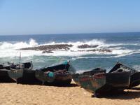 Am Strand in Ouadira