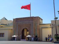 Vor dem Königspalast in Rabat