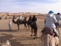 In der Wüste Marokkos
