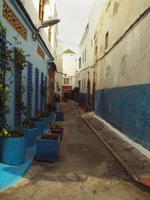 Spaziergang in der Kasbah der Oudaias