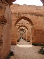 Meknès. Pferdeställe