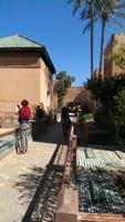 Besichtigung der Saadirgräber