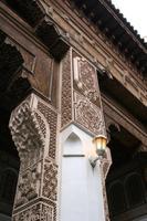 Im Bahia Palace in Marrakesch