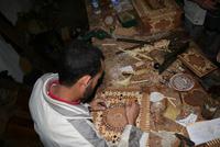 Intarsienwerkstatt in Essaouira