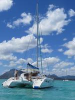 Mauritius: Katamaranfahrt