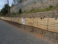 138 Madagaskar - Antananarivo - Wand für die Wahlplakate