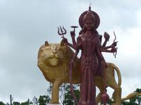179 Mauritius - Grand Bassin - Göttin Durga