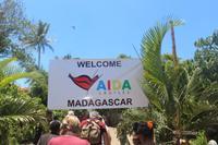 Madagaskar/Toamasina - Traditionelles Dorf am Pangalanes Fluss