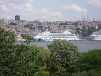 unsere AIDA in Istanbul