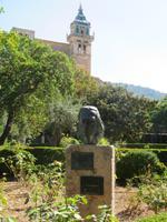 Mallorca - Inselrundfahrt - Valldemossa - Denkmal für Frederic Chopin
