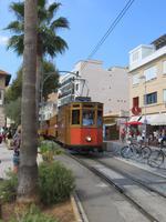 Mallorca - Inselrundfahrt -  Soller - Port Soller - hisdtorische Straßenbahn