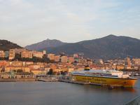 Korsika - Blick auf den Hafen von Ajaccio