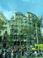 Barcelona - Stadtrundfahrt - Casa Batlló von Antoni Gaudi