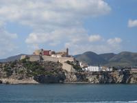 Ibiza -Blick zur Altstadt