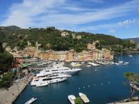 Portofino – Blick auf den Hafen