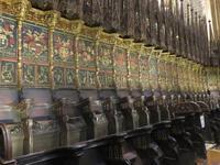 Barcelona – Kathedrale Santa Eulalia – Wappen der Ritter des Goldenen Vlieses