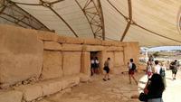 Haupteingang in den Hagar Qim Tempel