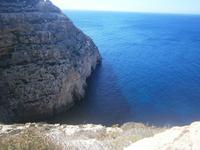Blick zur blauen Grotte