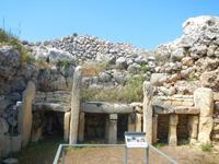 Ggantija- Tempel auf Gozo