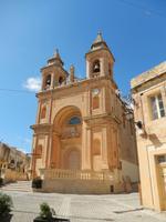 Die Kirche von Marsaxlokk.