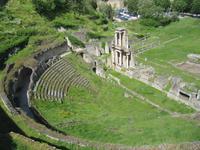 Toskana Volterra Romisches Theater