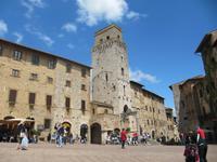 Toskana - San Gimignano Zisternenplatz
