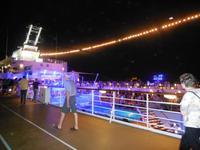 Nachtstimmung auf dem Schiff