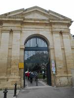 Valletta (Eingang zu den Oberen Barrakka Gärten)