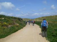 Insel Gozo (Wanderung von Qbajjar nach Gharb - Tal Wied-Ghasri)