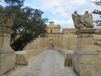Am Main Gate von Mdina