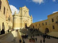 Kathedralenplatz auf der Zitadelle von Rabat
